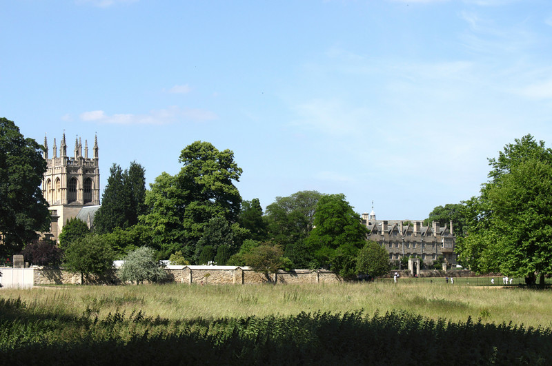 Christ Church Meadow and Merton College Oxford