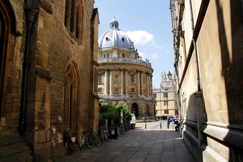 Radcliffe Camera Oxford summer 2010