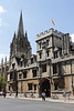 All Souls College Oxford and church spire of St Mary the Virgin