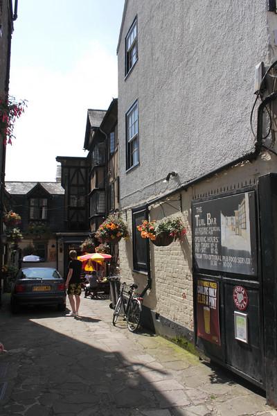 The Turl Bar Oxford summer 2010