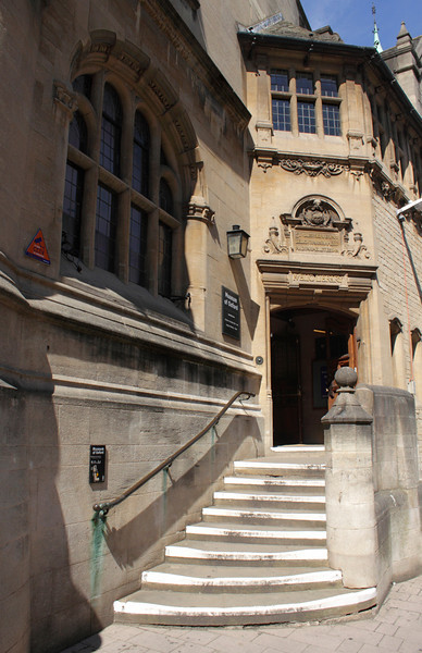 Museum of Oxford off St Aldate's Street Oxford