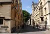 Turl Street and Exeter College Oxford