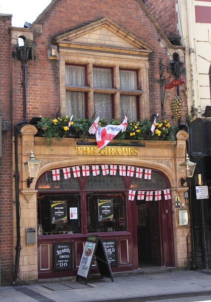 The Grapes Pub St Aldate's Street Oxford