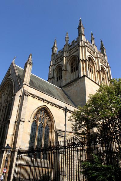 Merton College Chapel Tower Oxford
