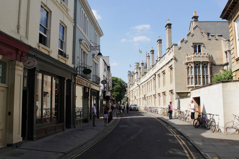 Turl Street Oxford June 2010