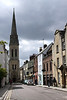 St Michael's Street and Spire of Wesley Memorial Methodist Church Oxford