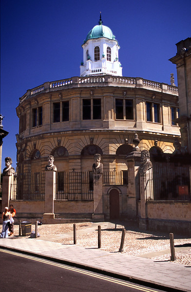 Sheldonian Theater Oxford