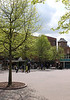 Market square at Gloucester Green Oxford May 2010