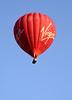 Hot air balloon over Oxfordshire