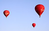 Hot air Balloons over Oxfordshire