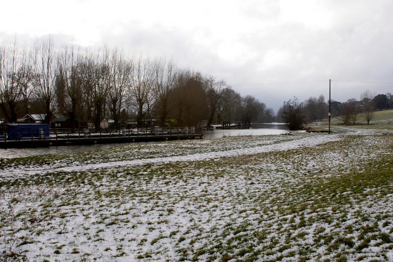 River Thames at Shiplake Oxfordshire