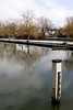 River Thames at Shiplake Lock Oxfordshire Winter 2009
