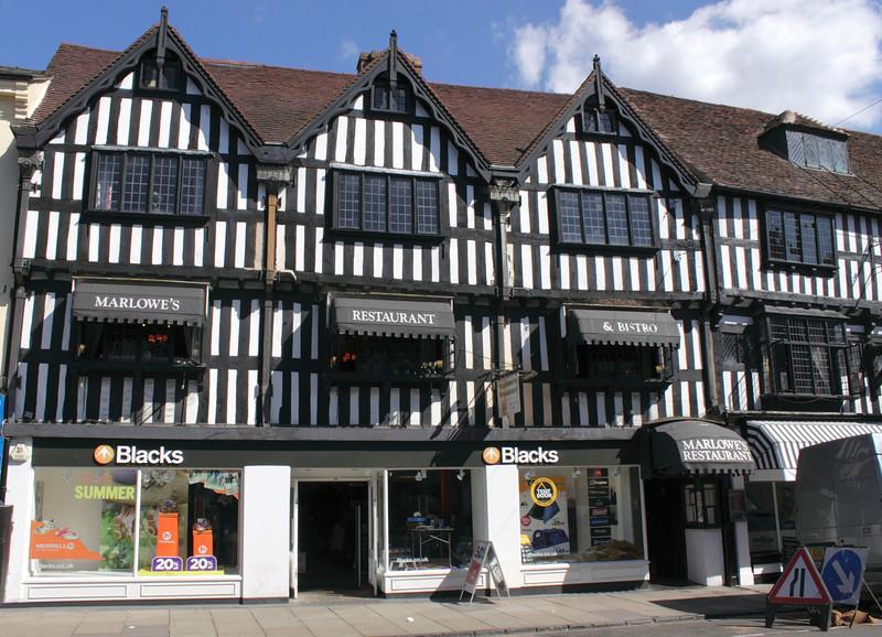 Marlowe's Restaurant High Street Stratford Upon Avon