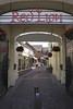 Old Red Lion Court shopping area Stratfod Upon Avon Warwickshire