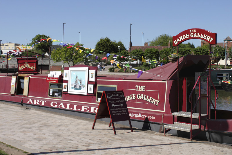 The Barge Gallery  at The Bancroft Stratford Upon Avon Warwickshire