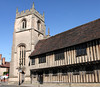 Guild Chapel in Church Street Stratford Upon Avon Warwickshire