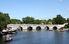 River Avon and Clopton Bridge Stratford Upon Avon Warwickshire