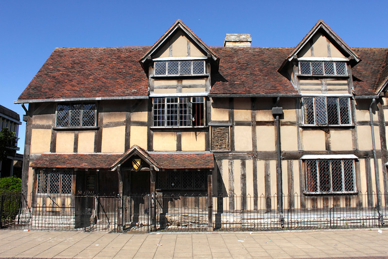 Shakespeare's birthplace Henley Street Stratford Upon Avon