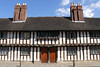 Tudor almshouses Church Street Stratford Upon Avon Warwickshire