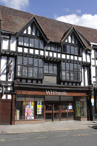 WH Smith shop Stratford Upon Avon Warwickshire