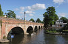 Tramway Bridge over the River Avon Stratford upon Avon Warwickshire