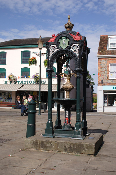 Old town well Wallingford Oxfordshire
