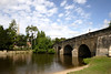 Bridge on River Thames at Wallingford Oxfordshire