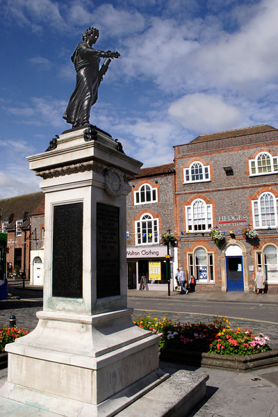 War Memorial at Market Place Wallingford Oxfordshire