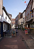 Alley off Market Place Wallingford Oxfordshire