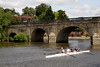 Bridge on River Thames at Wallingford Oxfordshire