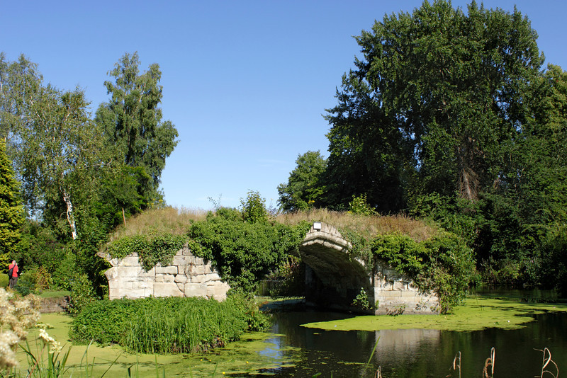 River Avon view from Mill Garden Warwick