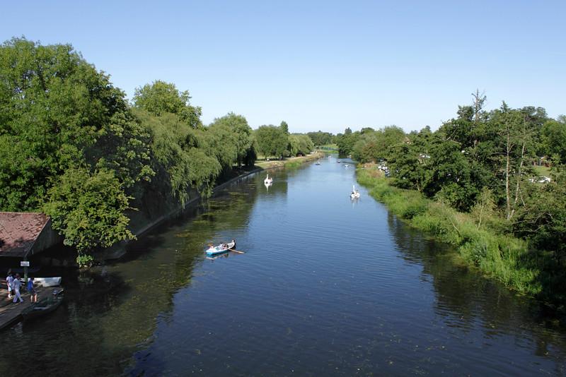 River Avon at Warwick Warwickshire
