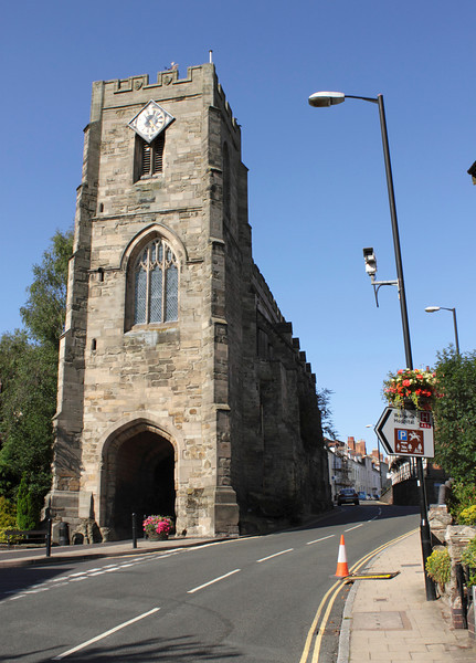 West Gate and the Chapel of St James Warwick