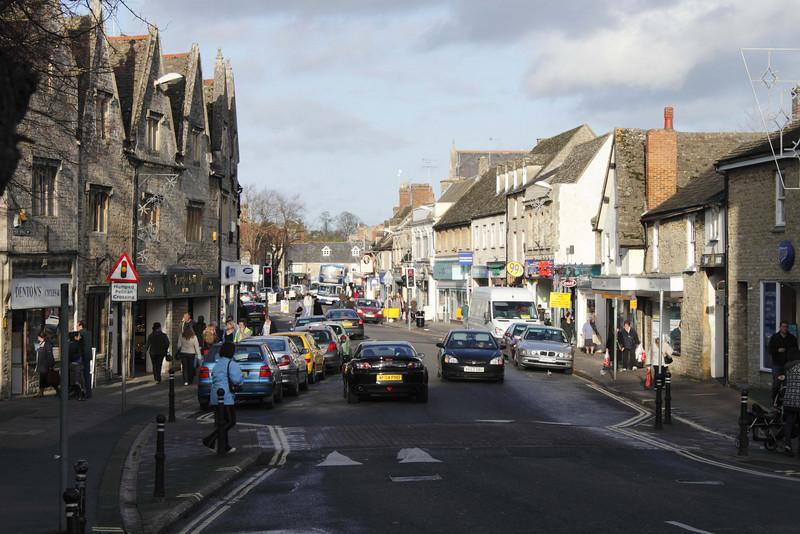 High Street Witney Oxfordshire November 2009