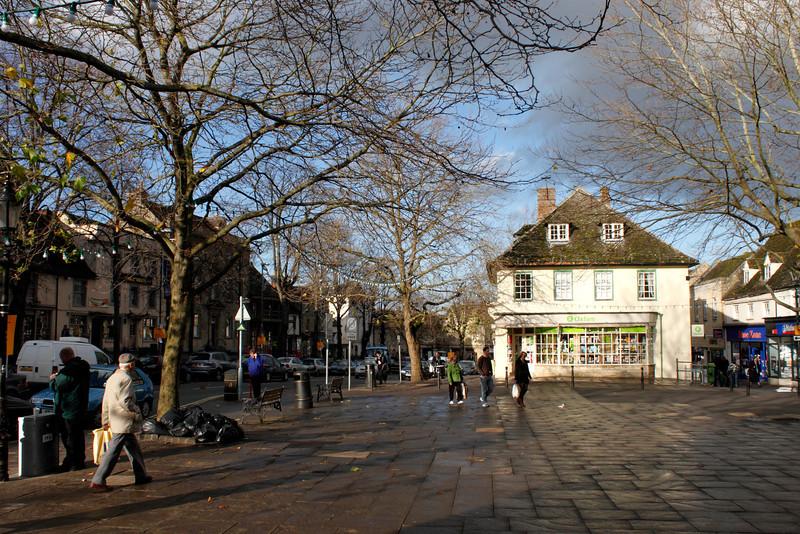 Market Square Witney Oxfordshire