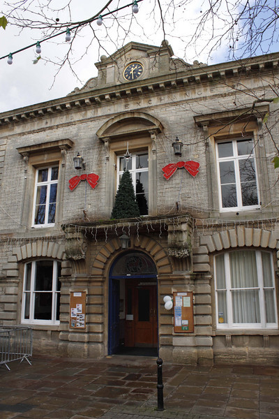 Corn Exchange building Witney Oxfordshire