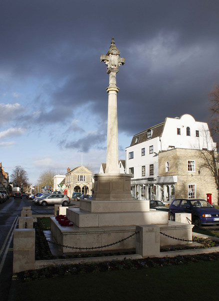 War memorial at Witney Oxfordshire
