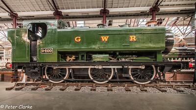 9400 Class 0-6-0T No 9400 Pannier Tank