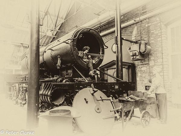 STEAM- GWR Museum Swindon