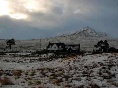 Corrour Station House, December 10