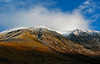 Looking up to Ben Nevis from Glen Nevis, Nov 2010