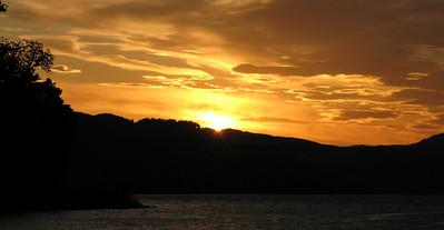 Sunset at Ratagan