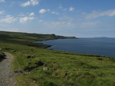 Rubh an Dunain - peninsular walk from Glenbrittle - Island of Canna in distance