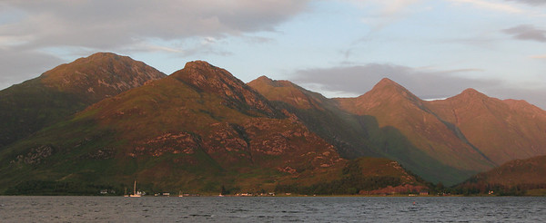 5 Sisters of Kintail from Ratagan