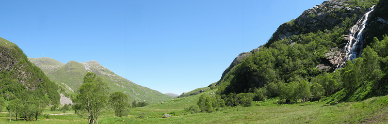Steall Meadows & Falls, Glen Nevis