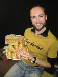 Rehearsal bread (Courtesy of Clare Brewer)