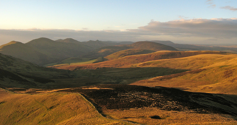 From Allermuir looking south west