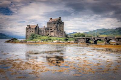 Eilean Donan Castle Sunshine