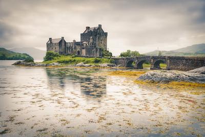 Eilean Donan Castle Rain