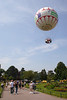 Bournemouth Central Gardens and balloon